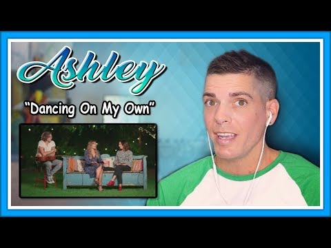 "Ashley Tisdale Reaction | ""Dancing On My Own"" ft. Lea Michele"