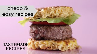 16 Cheap & Easy Recipes You Should Try | Tastemade by Tastemade