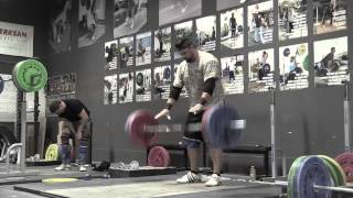 Daily Training 9-12-14 - Chelsea clean & jerk Danielle snatch high-pull Aimee snatch Brian power clean + power jerk Danielle back extension - Catalyst Athletics Olympic Weightlifting Videos