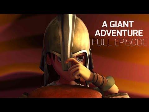 Superbook - A Giant Adventure - Season 1 Episode 6 - Full Episode (Official HD Version)