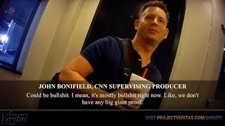 In the recent video footage obtained by Project Veritas, John Bonifield a Sr. Producer at CNN, admits to several beliefs that are in ...