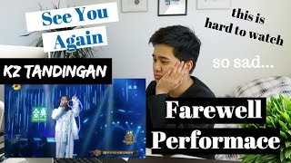 "Video KZ TANDINGAN - ""SEE YOU AGAIN"" (Last Performance) Singer 2018 