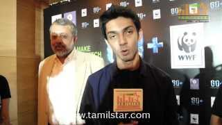 Anirudh Ravichander Speaks at Earth Hour 2014