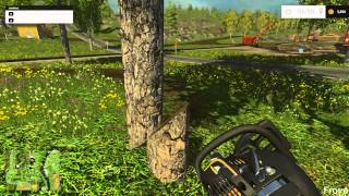 Farming Simulator 2015 - How To Get Fast Money At Start