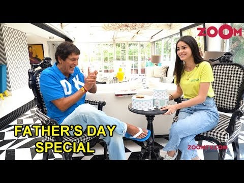 Ananya Panday's Fun Conversation With Her Father Chunky Panday | Father's Day Special