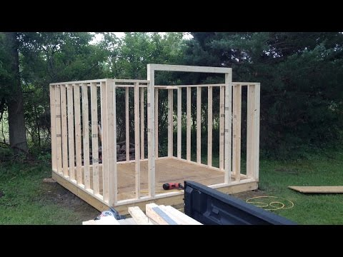 How To Build a Mini Barn - Part Two: Framing