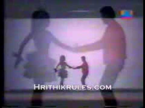 Hrithik Roshan Stage Performance with shadow