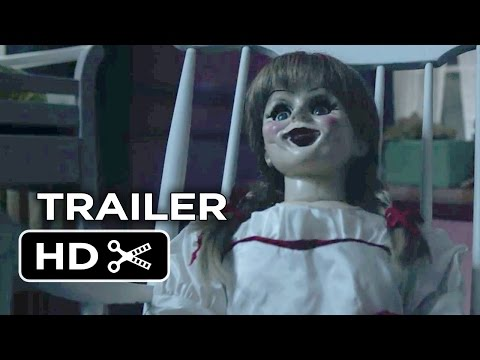 Official - Subscribe to TRAILERS: http://bit.ly/sxaw6h Subscribe to COMING SOON: http://bit.ly/H2vZUn Like us on FACEBOOK: http://goo.gl/dHs73 Follow us on TWITTER: http://bit.ly/1ghOWmt Annabelle Official...