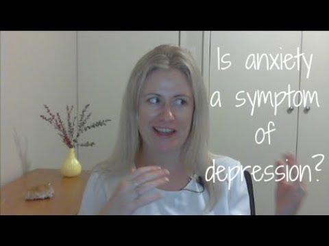 Is anxiety a symptom of depression?