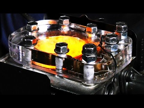 See Through Engine - 4K Slow Motion Visible Combustion (using different types of fuel)