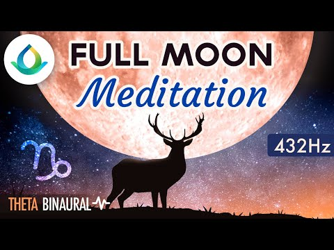 FULL MOON MEDITATION (July 2019) 🌕♑ Lunar Eclipse