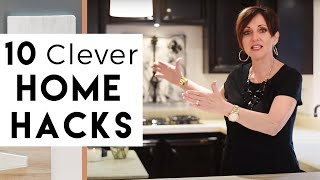 Video 10 Clever Home Hacks | Interior Design MP3, 3GP, MP4, WEBM, AVI, FLV Juli 2019