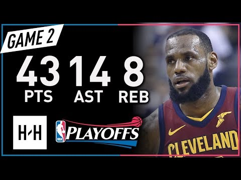 LeBron James EPIC Full Game 2 Highlights vs Raptors 2018 NBA Playoffs - 43 Pts, 14 Ast, MVP Mode! - Thời lượng: 7:28.