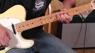 Blues Rock Guitar Solo Lesson  Pentatonic Scales - Mixing the Major and Minor Pentatonics - Blues Li
