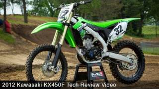 6. MotoUSA Tech Review:  2012 Kawasaki KX450F