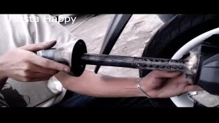 Bobok & Modif Knalpot Exhaust Tsukigi di Xeon GT125