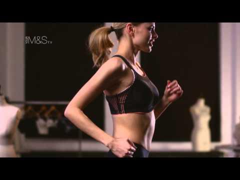 M&S Lingerie Innovations: Shock Absorbing Sports Bra