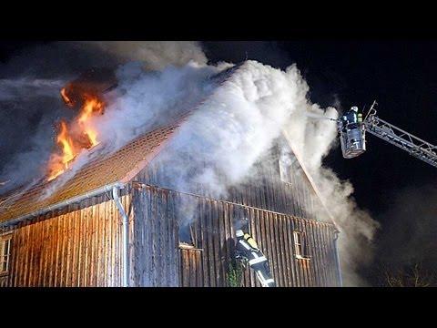Alraft: Wohnhausbrand am Geburtstag