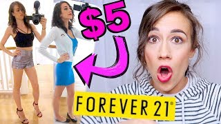 Video I ONLY WORE $5 OUTFITS FROM FOREVER 21 FOR A WEEK! MP3, 3GP, MP4, WEBM, AVI, FLV Juni 2018