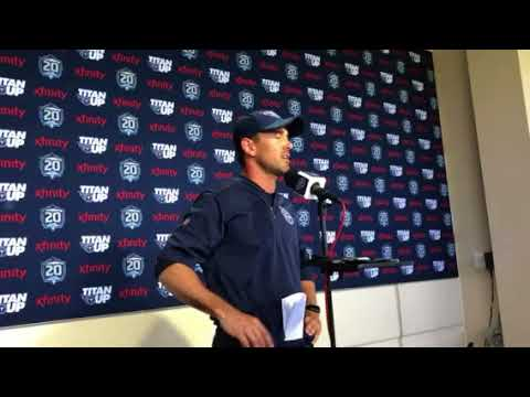 Titans OC Matt LaFleur talks about Marcus Mariota working on his base