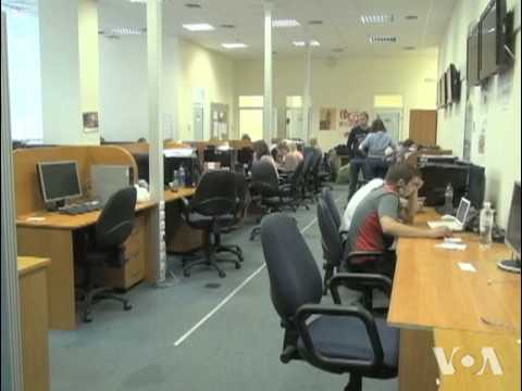 Independent Ukrainian TV station Struggles to Stay on the Air