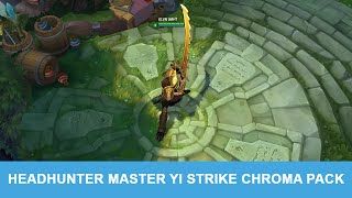LMHT 5.12: Gói Đa Sắc Master Yi Thợ Săn Chiến Đấu, liên minh huyền thoại, lmht, lol
