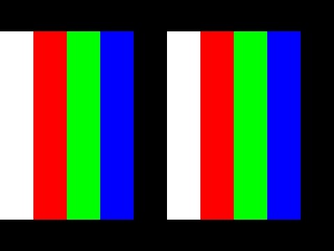 4K 2160p UHDTV Monitor Test 10min (Bright/dark/color pixels)