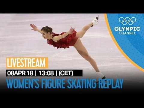 Women's Figure Skating LIVE Replay | PyeongChang 2018 Winter Olympics | Go Figure!