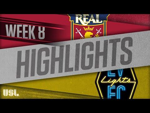 Реал Монаркс - Las Vegas Lights 0:0. Видеообзор матча 01.05.2018. Видео голов и опасных моментов игры