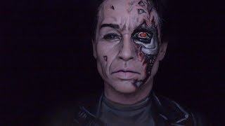 Only In Ur Mind: Welcome to Only In Ur Mind.   This week I am redoing the Terminator makeup that I did a while back.  I did not video how I did the makeup so I wanted to do a video for you all. So I hope you enjoy!Make-up used mehron paradise paint: white and  silverCameleon: blackFAB: pinkish tan and tanEye shadow: brown and blackmusic by: Video Game Soldiers by Twin Musicom is licensed under a Creative Commons Attribution license (https://creativecommons.org/licenses/by/4.0/)Source: http://www.twinmusicom.org/song/295/video-game-soldiersArtist: http://www.twinmusicom.org For most of the products I use please check out my affiliate link : https://store.facepaint.com/tasharo.html