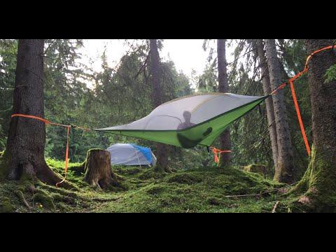 Baumzelt vs. normales Zelt: Fläzen oder Fliegen? || Test II PULS Playground