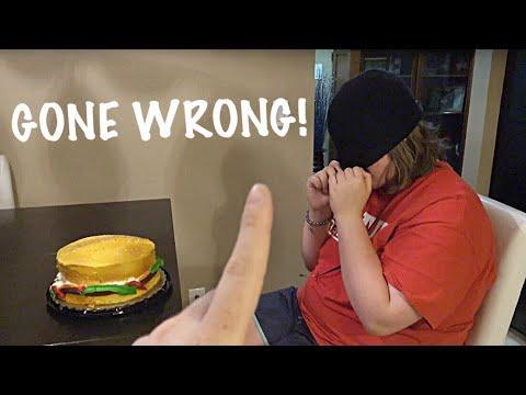 BIRTHDAY CAKE PRANK GONE WRONG!