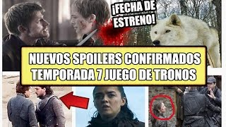 Nuevos y definitivos Spoilers de la séptima temporada. Trama de los Greyjoys, Batalla Lannister y tyrell. ¿Que pasa mas allá del muro? Caminantes Blancos. Fotos filtradas y mas. ==========================================================================================================No olvides suscribirte a mi canal, comentar y compartir el video en tus redes sociales.==========================================================================================================https://www.facebook.com/Hey-Barto-1659753347575796/Fan Page: ==========================================================================================================Intrepid by Kevin MacLeod (incompetech.com)Licensed under Creative Commons: By Attribution 3.0http://creativecommons.org/licenses/b...
