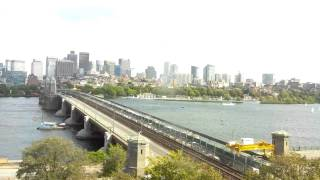 Full Day Time-Lapse Over Longfellow Bridge - Sep 06, 2014