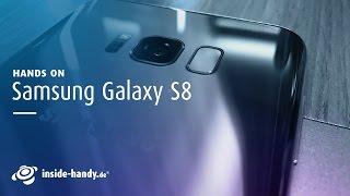 """Samsung hat es enthüllt: das neue Galaxy S8 mit """"revolutionärem"""" Infinity-Display. Ob das wirklich so revolutionär aussieht, zeigen wir euch im Hands-On des Galaxy S8 und S8+.Weitere Infos zum Samsung Galaxy S8 und Galaxy S8+:Alle Infos zu kaufen und vorbestellen: https://www.inside-handy.de/news/44408-samsung-galaxy-s8-plus-kaufenAlle Daten auf einen Blick: https://www.inside-handy.de/news/44409-samsung-galaxy-s8-praesentation-daten-fakten-hands-onZum Handy-Datenblatt des Samsung Galaxy S8: https://www.inside-handy.de/handys/samsung-galaxy-s8Zum Handy-Datenblatt des Samsung Galaxy S8: https://www.inside-handy.de/handys/samsung-galaxy-s8Zum Handy-Datenblatt des Samsung Galaxy S8+: https://www.inside-handy.de/handys/samsung-galaxy-s8-plusHier findet ihr uns:→  Jetzt Abonnieren: http://l.hh.de/R5mdMu→  Finde uns auf Facebook: https://www.facebook.com/insidehandy→  Folge uns auf Twitter: http://twitter.com/inside_handy→  Website: http://www.inside-handy.de/→  Google+: https://plus.google.com/+insidehandyUnser kostenloser Newsletter: http://bit.ly/MwXP0c"""