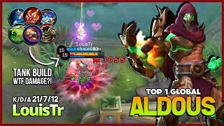 Video One Punch Man 21 Kill with Tank Build?! LouisTr Top 1 Global Aldous ~ Mobile Legends MP3, 3GP, MP4, WEBM, AVI, FLV September 2018