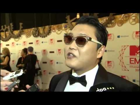 MTV's Europe Music Awards go Gangnam Style with Psy Video