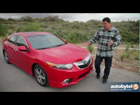 2012 Acura TSX Video Road Test and Review