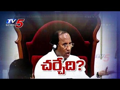 Uproar In AP Assembly   Assembly Sessions For Counters & Personal criticises : TV5 News