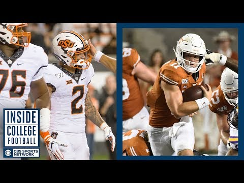 Video: Oklahoma State at #12 Texas Preview | Inside College Football