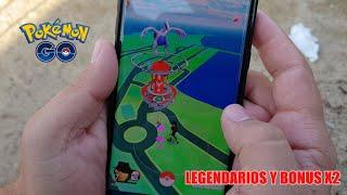 Muy buenas gente, ya están aquí los pokemon legendarios, lugia y articuno los primeros en aparecer desde muy temprano,...