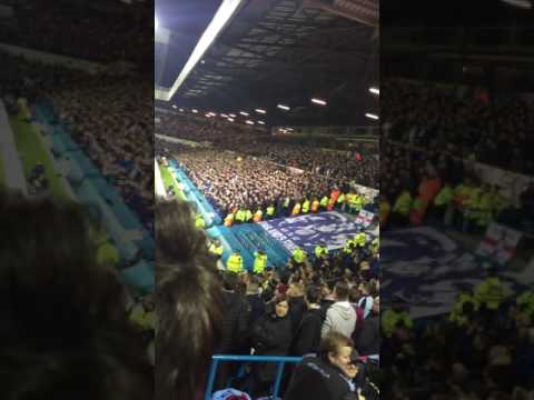 Aston Villa vs Leeds jimmy savile Chant