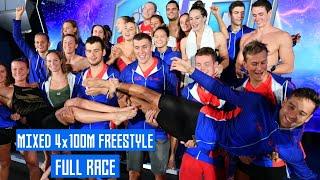 Mixed 4x100m Freestyle FULL RACE | ISL Naples |