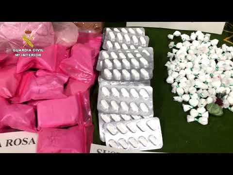 """La droga hecha en Colombia distribuida en España llamada """"Pantera Rosa"""" (VIDEO)"""