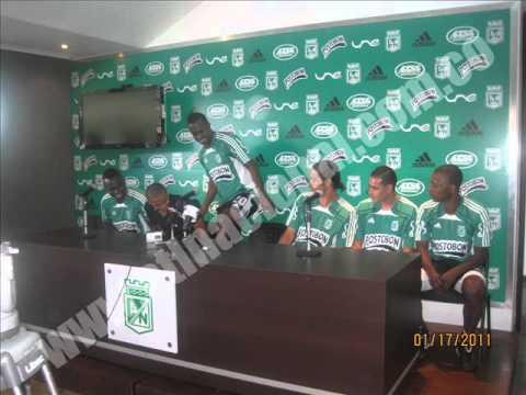 Edgar Zapata hablando de sus compañeros de equipo