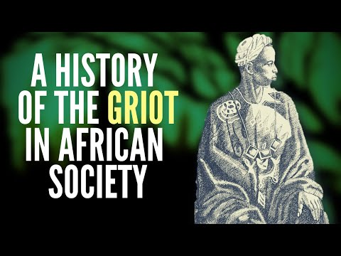 A History Of The Griot In African Society