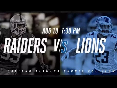 LS 2 - Oakland Raiders Preseason Game 1