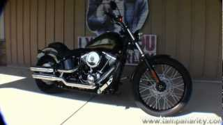 7. New 2013 Harley-Davidson Blackline FXS