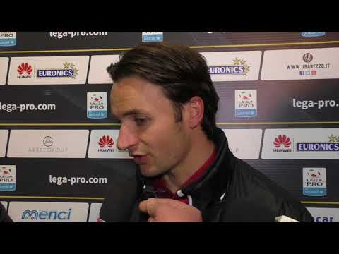 Arezzo-Gavorrano 0-0, intervista a Sergio Sabatino