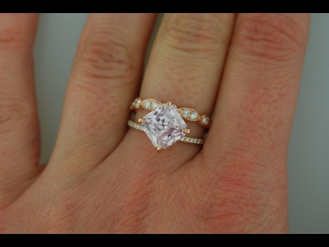 Square Engagement Rings and Wedding Bands Ideas